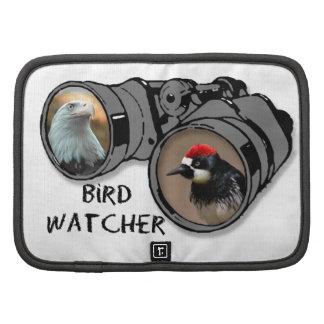 Bird Watcher Design w Eagle Woodpecker Planner