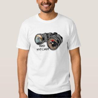 Bird Watcher Design w/Eagle & Woodpecker Shirt