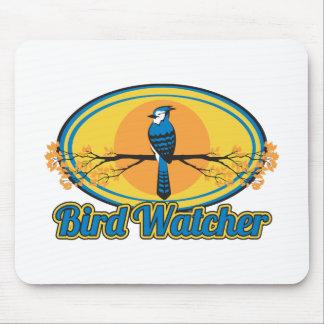 Bird Watcher Mouse Pad