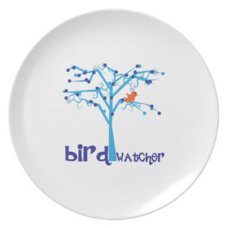 Bird Watcher Plates
