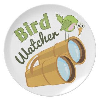 Bird Watcher Plate