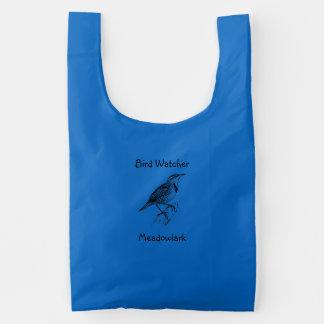 Bird Watcher Reusable Bag