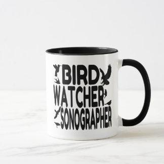 Bird Watcher Sonographer Mug