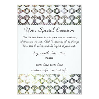 Bird Watchers Damask Broken Birdhouse Card