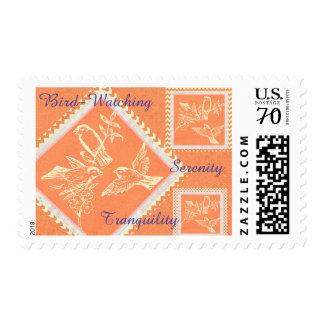 Bird Watchers Dream Postage Stamp