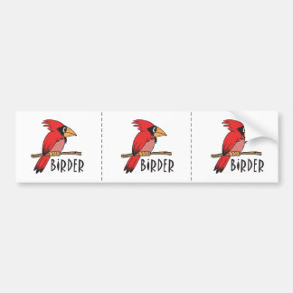 Bird Watching Bumper Sticker