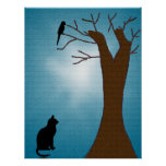 Bird Watching Cat Print