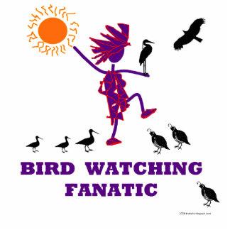 Bird Watching Fanatic Cutout