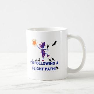 Bird Watching Flight Path Classic White Coffee Mug