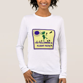 Bird Watching Flight Path Design Long Sleeve T-Shirt