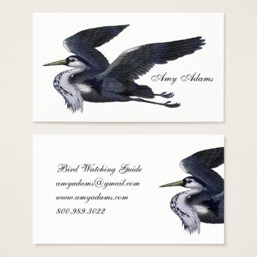 Professional Business Bird Watching Guide Business Cards
