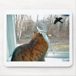 Bird Watching Mouse Pad