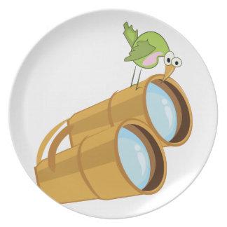Bird Watching Plate