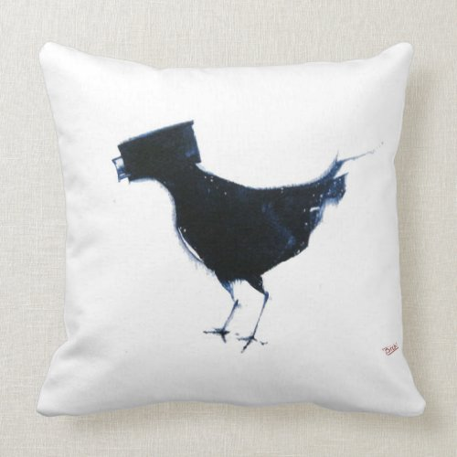 bird watching throw pillow throwpillow