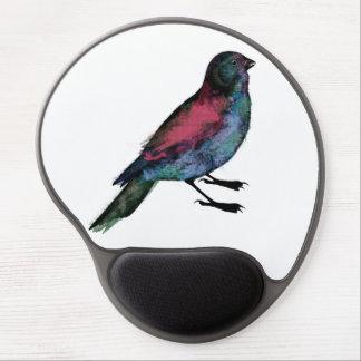 Bird watercolour gel mousepad