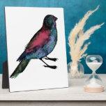 Bird Watercolour Photo Plaque