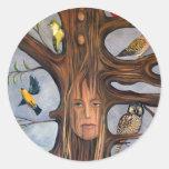 Bird Whisperer Round Sticker