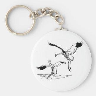 Bird / Whooping Crane Keychain
