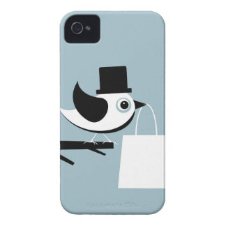 Bird with a package iPhone 4 case