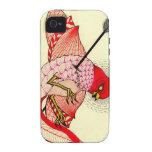 bird with arrow iPhone 4/4S case