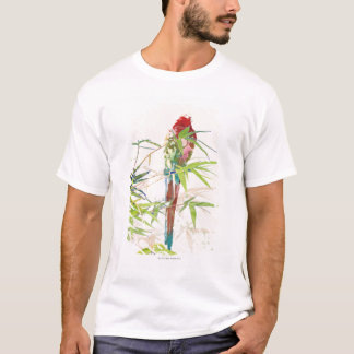 Bird with Bamboo Leaves T-Shirt