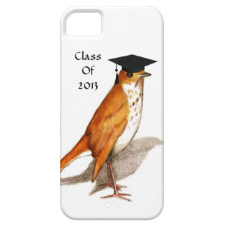 Bird With Graduation Cap: Class of 2013, Customize iPhone SE/5/5s Case