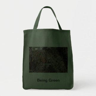 Bird with Pine Tree Tote Bag