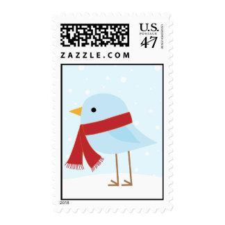 Bird with Scarf Postage
