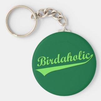 Birdaholic Keychain