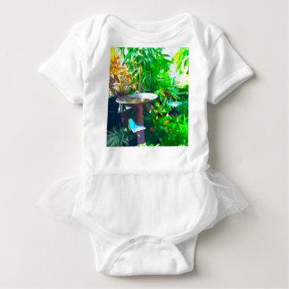 Birdbath in Key West Baby Bodysuit