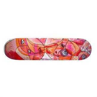 Birdbrain Custom Skate Board