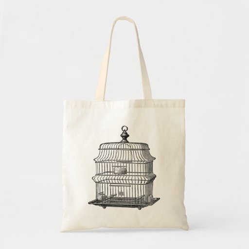 Birdcage Canvas Bags