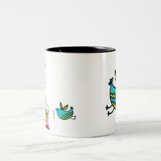 Birdcage Birds Mug