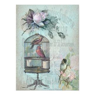 Birdcage Blossom Card