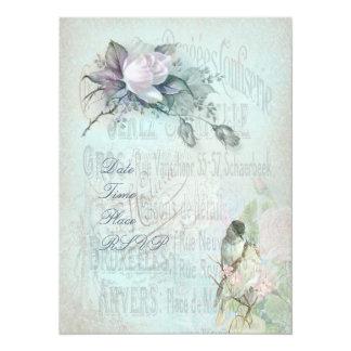Birdcage Blossom Invitation