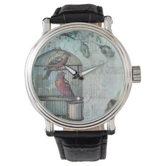 Birdcage Blossom Wristwatch
