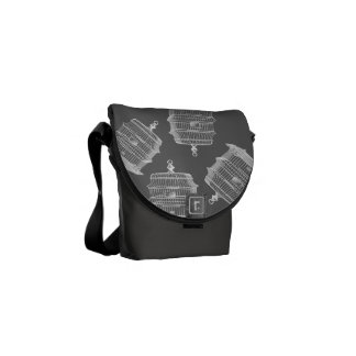Birdcage Courier Bag