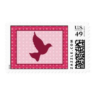 Birdcage de 20 sellos/ligón gris de la jaula de sellos postales