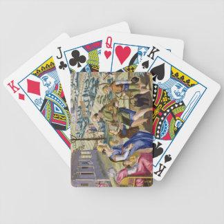 Birdcatchers que vende pájaros muertos, platea 76  cartas de juego