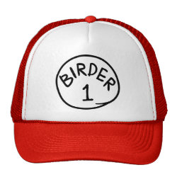 Trucker Hat with Birder 1, 2, 3 design