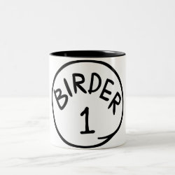Birder 1 Two-Tone coffee mug