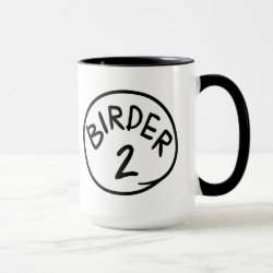 Combo Mug with Birder 1, 2, 3 design