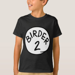 Kids' Hanes TAGLESS® T-Shirt with Birder 1, 2, 3 design