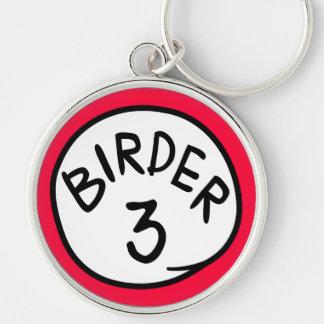 Birder 3 keychain