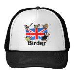 Birder BRITÁNICO Gorros Bordados