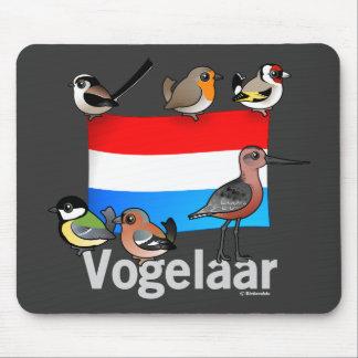 Birder holandés: Vogelaar Alfombrilla De Ratón