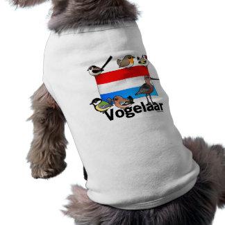 Birder holandés: Vogelaar Playera Sin Mangas Para Perro