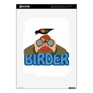 Birder iPad 3 Decals