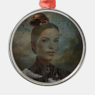 Birder Metal Ornament