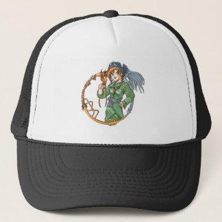 birdgirl trucker hat
